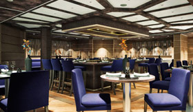 Global dining aboard Silver Muse