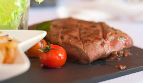 Steak Dinner - Silversea Cruises