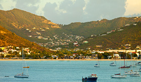 Silversea Cruises view of philipsburg, St. Martin