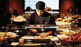 Silversea Cruise Line dining Seishin Restaurant
