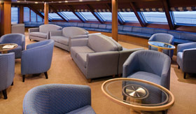 Silversea Cruise Line entertainment Observation Lounge