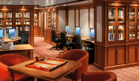 Silversea Cruise Line onboard activities Books and Movies