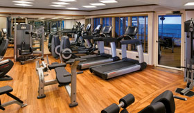 Silversea Cruise Line spa & fitness Fitness Centre