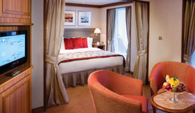 Silversea Cruise Line staterooms Medallion Suite
