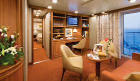 Silversea Cruise Line staterooms Owner's Suite