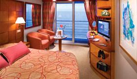Silversea Cruise Line staterooms Veranda Suite