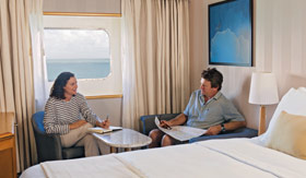 Silversea Cruise Line staterooms View Suite