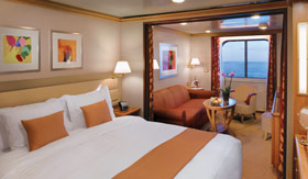 Silversea Cruise Line staterooms Vista Suite