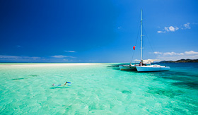 Catamaran sail and snorkel in the Southern Caribbean