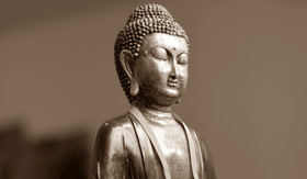 A buddhist idol