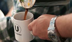 U by Uniworld River Cruises Coffee
