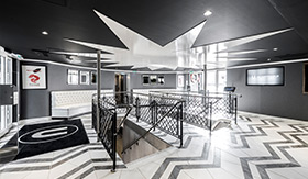 U by Uniworld River Cruises Lobby and Front Desk