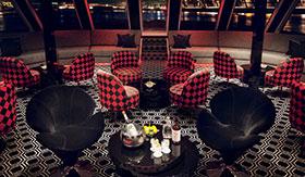 U Lounge aboard The B