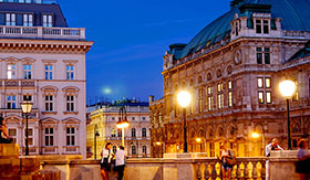 Vienna, Austria at Night