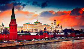 Uniworld River Cruises Grand Kremlin Palace in Moscow, Russia