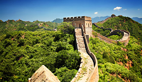 Uniworld River Cruises The Great Wall of China near Jinshanling