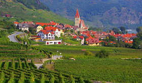 Uniworld River Cruises Weissenkirchen in Wachau Valley, Austria