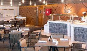 The Patio restaurant aboard Azamara