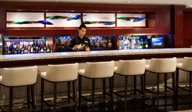 The Living Room bar aboard Azamara