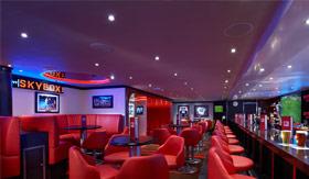 Skybox Sports Bar aboard Carnival