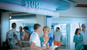 Slush aboard Celebrity Cruises