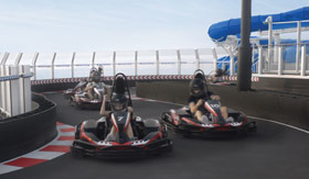 Go Karts for Norwegian Cruise Line
