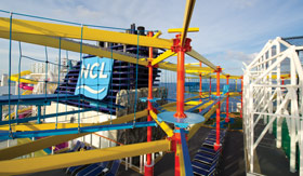 Ropes Course for Norwegian Cruise Line