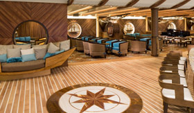 Schooner Bar aboard Royal Caribbean