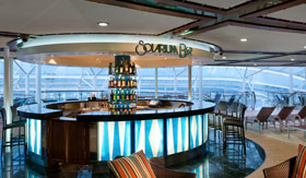Solarium Bar aboard Royal Caribbean