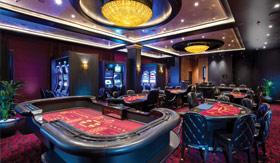 Casino aboard Regent Seven Seas