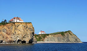 Perce Rock in Gaspe, Quebec