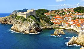 Coast of Dubrovnik, Croatia