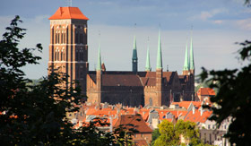 Cathedral in Gdansk Poland
