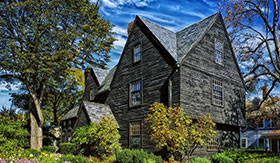 House of Seven Gables in Salem, MA