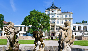 Viking River Cruises Baroque Castle near Litomerice, Czech Republic