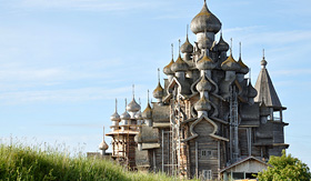 Viking River Cruises Church of the Transfiguration in Kizhi, Russia