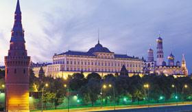 Viking Rivers Kremlin Moscow Russia