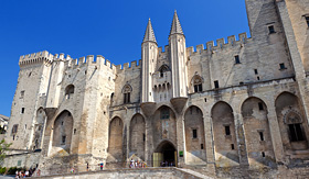 Viking River Cruises Palace of the Popes in Avignon, France