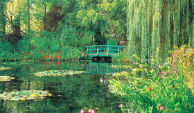 Viking Rivers Seine garden Giverny France