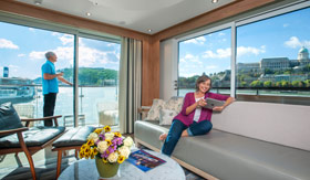 Viking Rivers staterooms Deluxe Stateroom