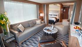 Viking River Cruises staterooms Explorer Suite