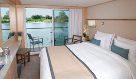 Viking Rivers staterooms Veranda