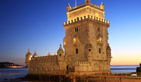 Viking Rivers Tower of Belem Lisbon Portugal