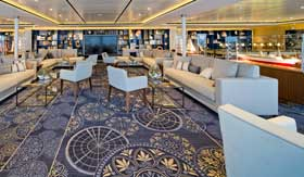 Explorers Lounge aboard Viking Spirit