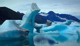 Kenai Fjords Glaciers in Alaska