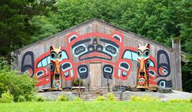 Totem Poles in Ketchikan, Alaska