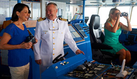 Windstar Cruises Bridge Tour with Captain