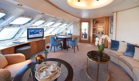 Windstar Cruises Power Yacht Owners Suite