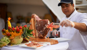 Windstar Cruises Poolside BBQ