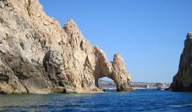 Cliffs in Cabo San Lucas, Mexico
